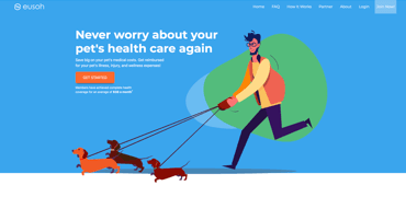 Eusoh pet insurance website